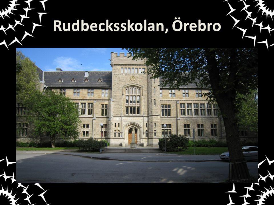 Rudbecksskolan, Örebro