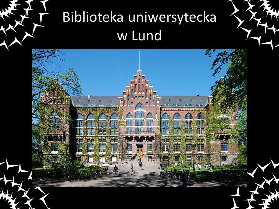 Biblioteka uniwersytecka w Lund