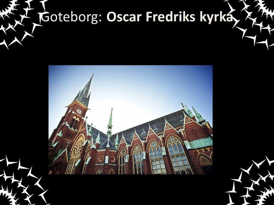 Goteborg: Oscar Fredriks kyrka