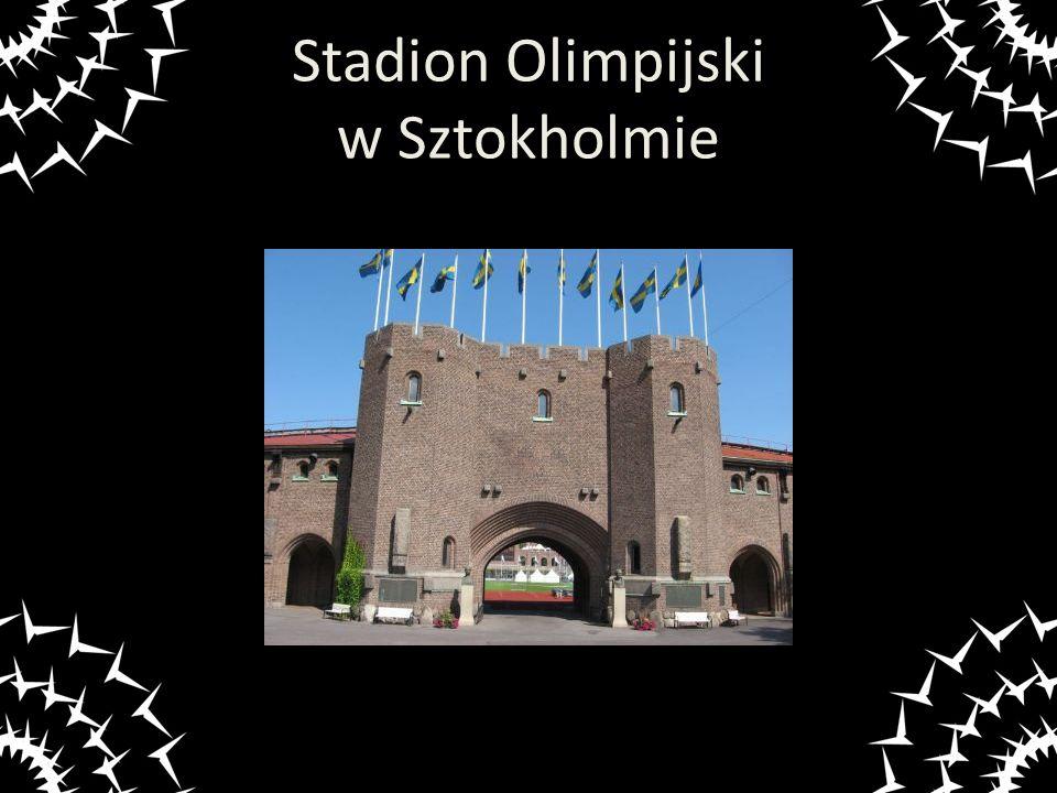 Stadion Olimpijski w Sztokholmie