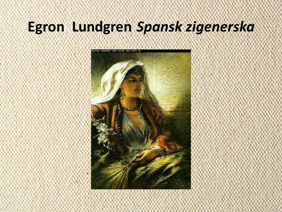 Egron Lundgren Spansk zigenerska
