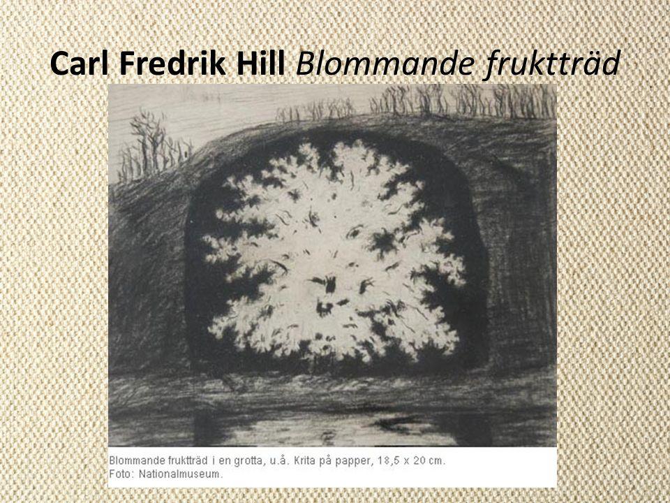 Carl Fredrik Hill Blommande fruktträd