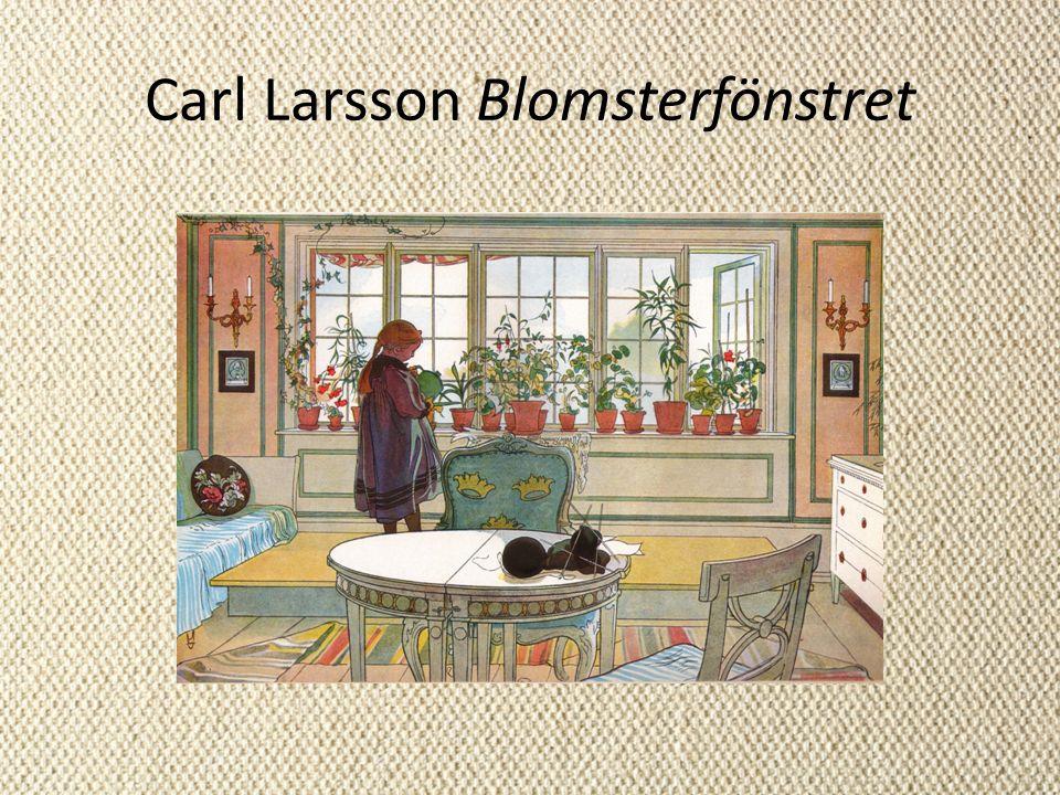 Carl Larsson Blomsterfönstret