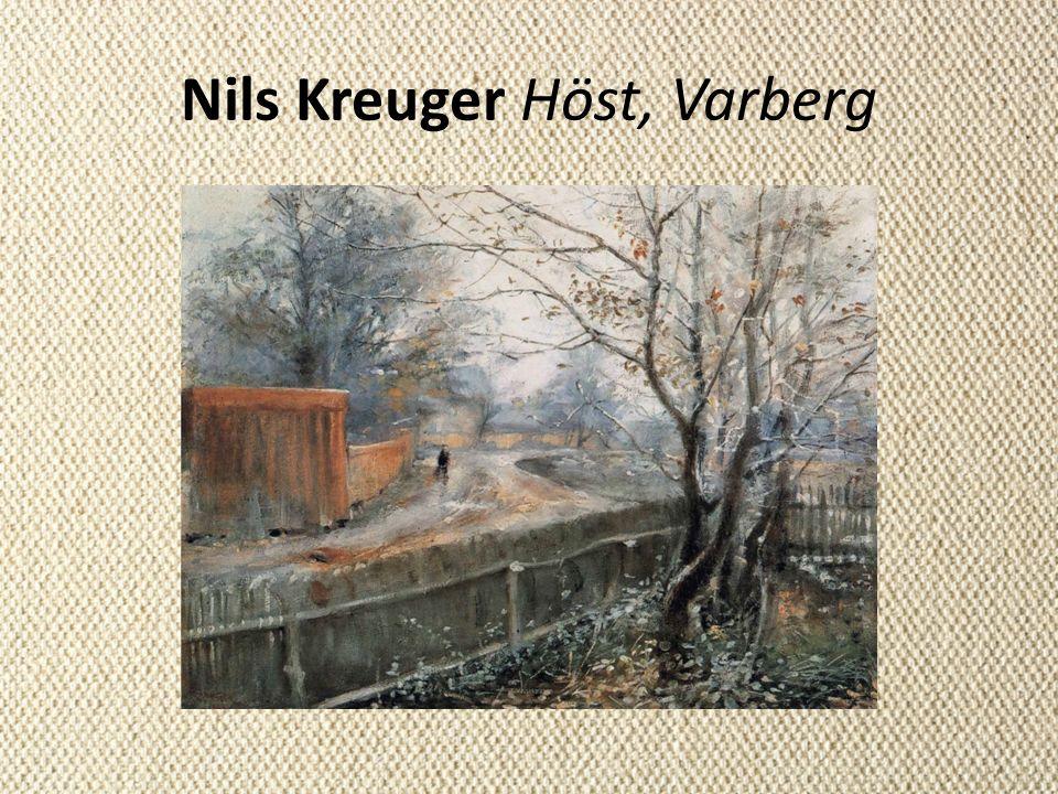 Nils Kreuger Höst, Varberg
