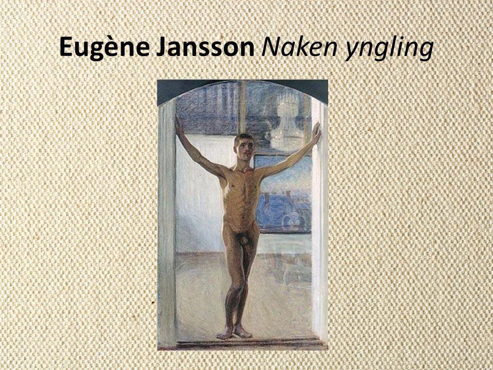 Eugène Jansson Naken yngling