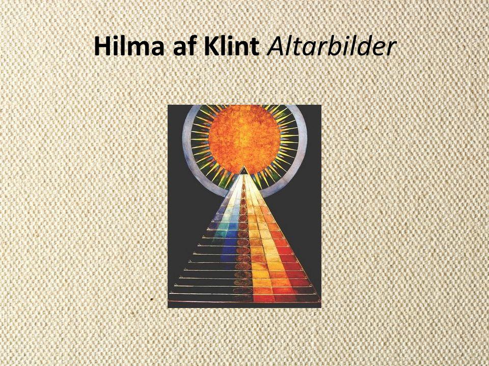 Hilma af Klint Altarbilder