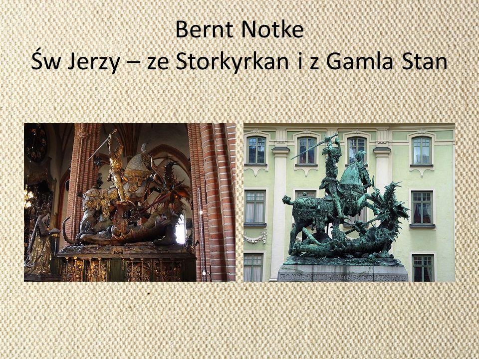 Bernt Notke Św Jerzy – ze Storkyrkan i z Gamla Stan