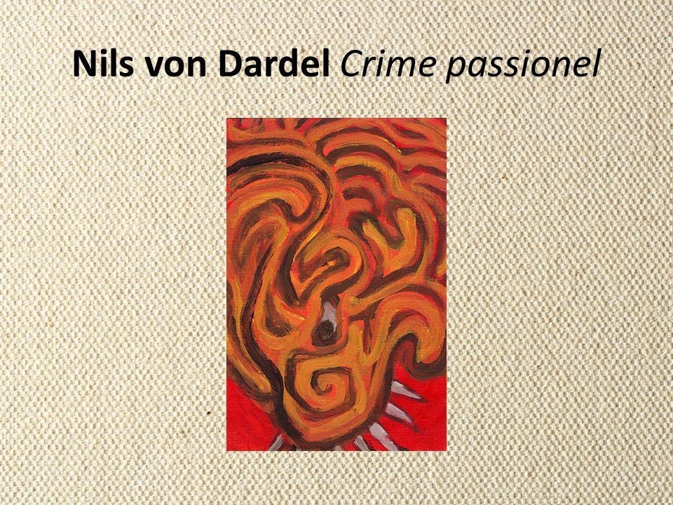 Nils von Dardel Crime passionel