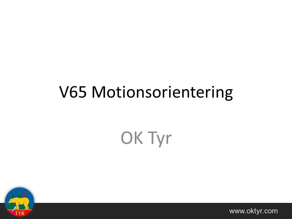 V65 Motionsorientering OK Tyr