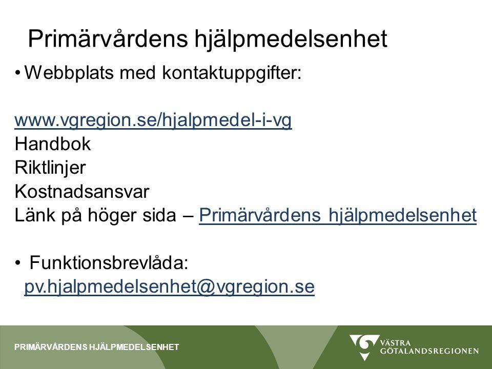 Fd Bohuslän och Mark-Svenljunga Kostnadsansvaret för hjälpmedel ligger kvar i kommunerna/privata aktörer (Lysekil, Orust och Mölndal) fram till årsskiftet.