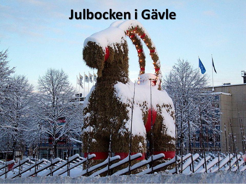Julbocken i Gävle