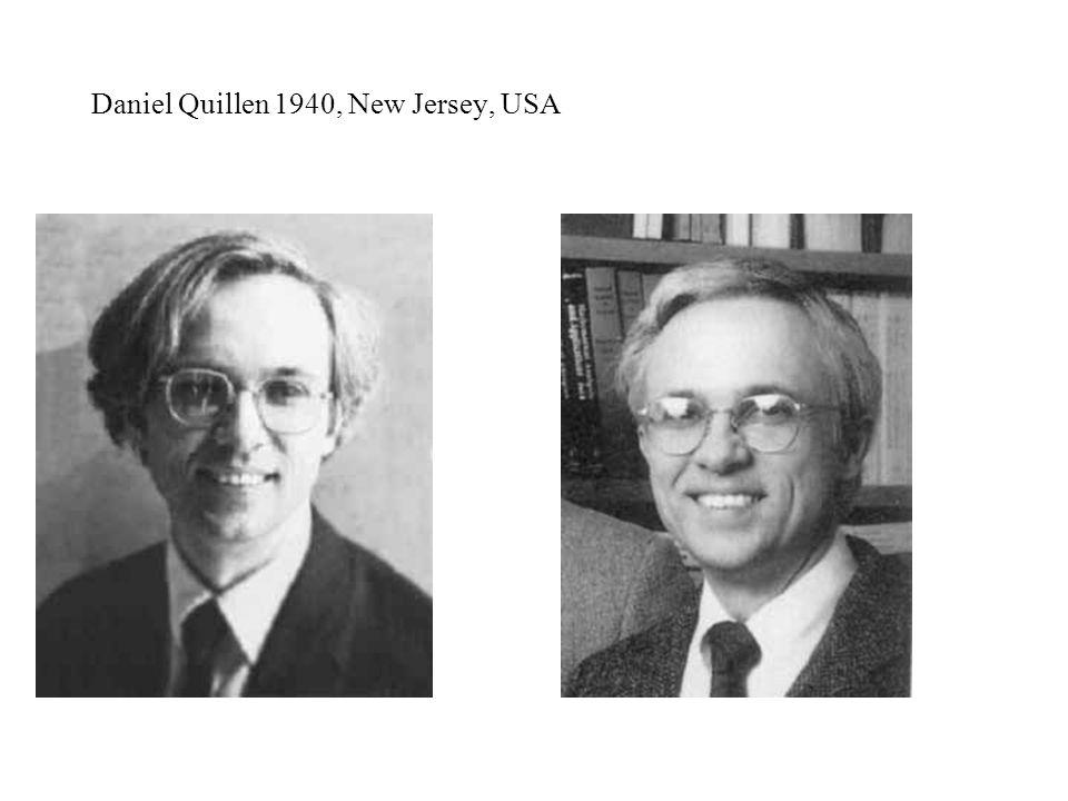 Daniel Quillen 1940, New Jersey, USA