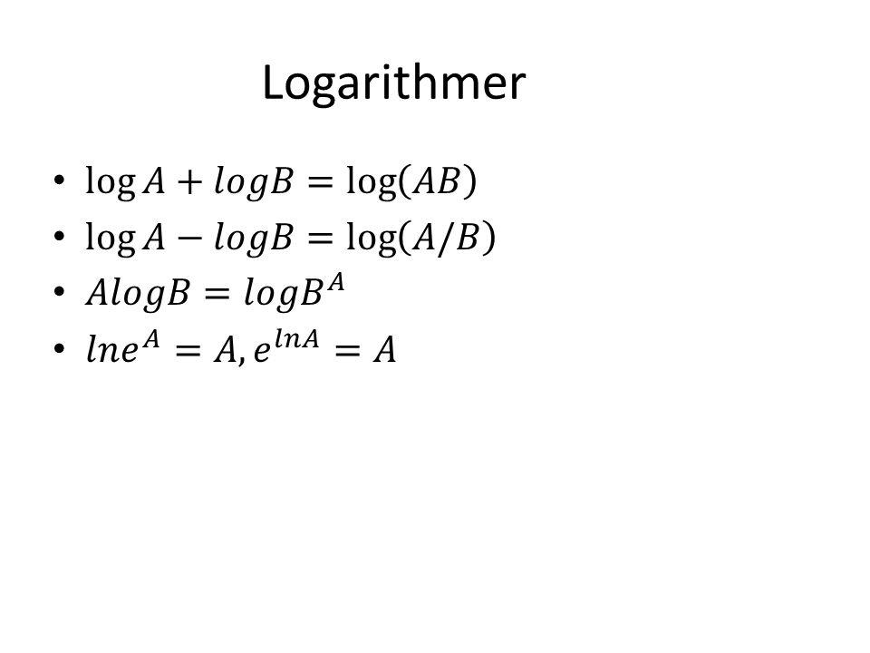 Logarithmer