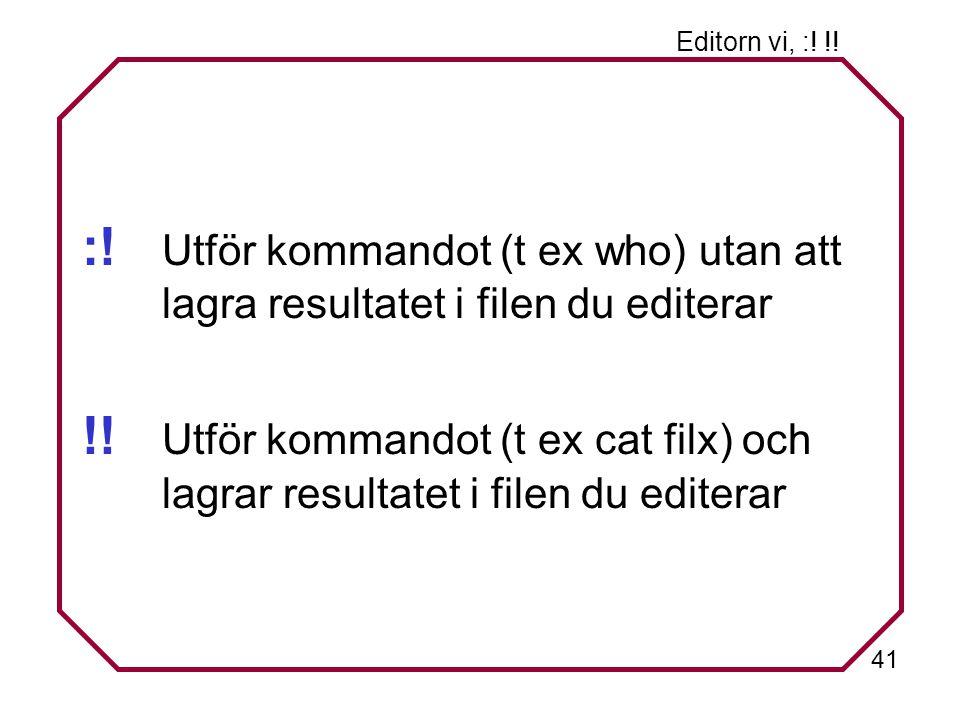 41 Editorn vi, :. !. :.