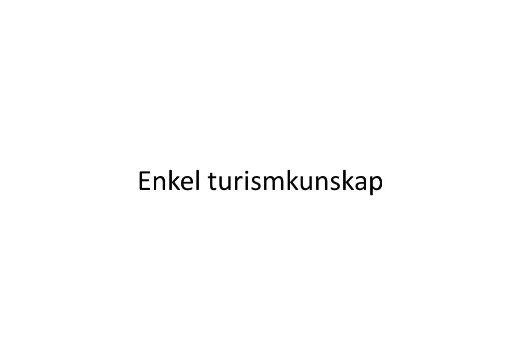 Turistkonsumtion i Sverige (löpande priser i milj SEK)