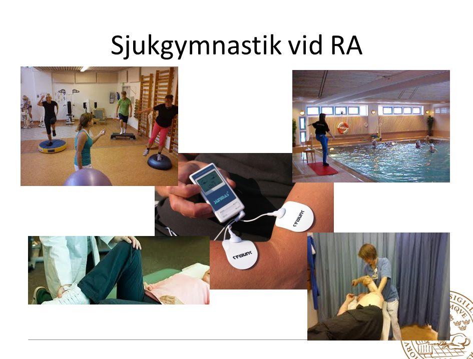 Resultat utvärdering: mätning av styrka, rörlighet och minskad smärta