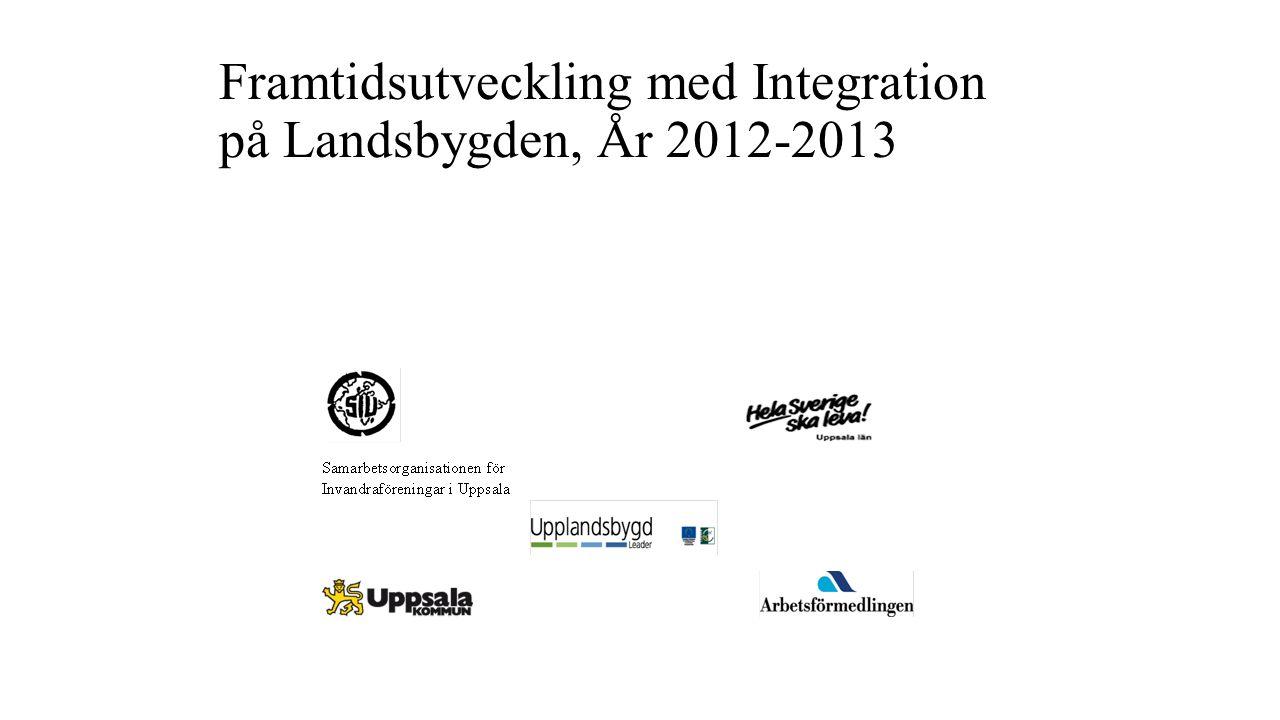 Framtidsutveckling med Integration på Landsbygden, År 2012-2013