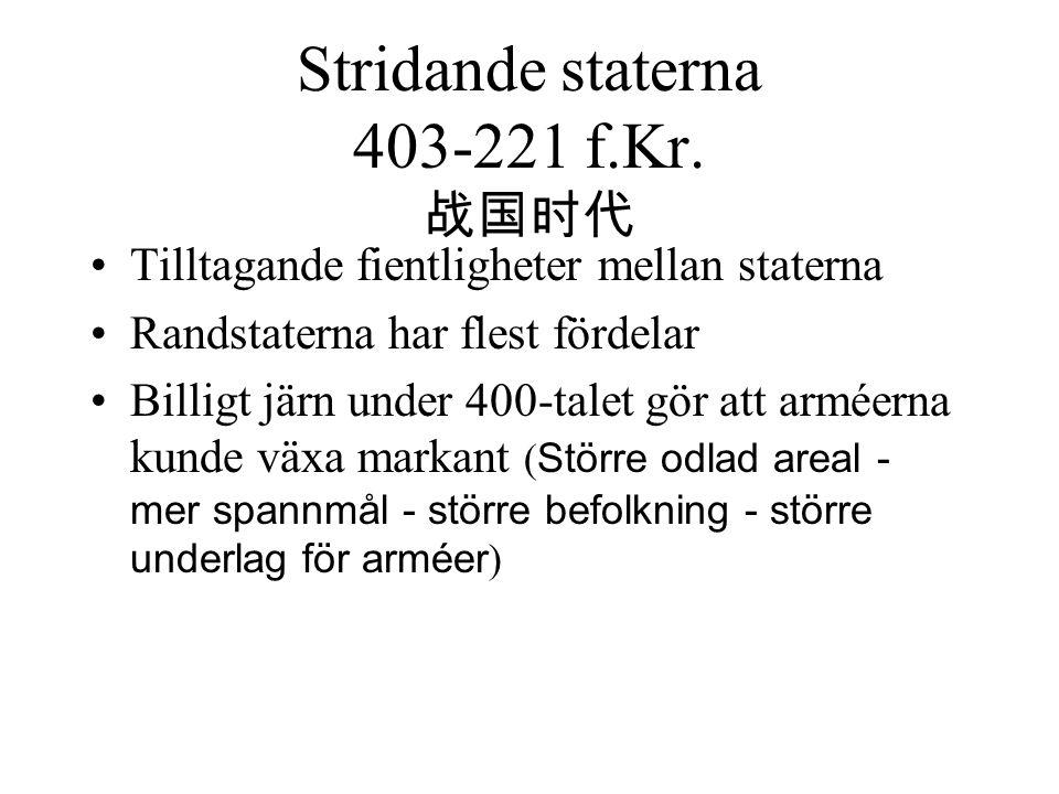 Stridande staterna 403-221 f.Kr.