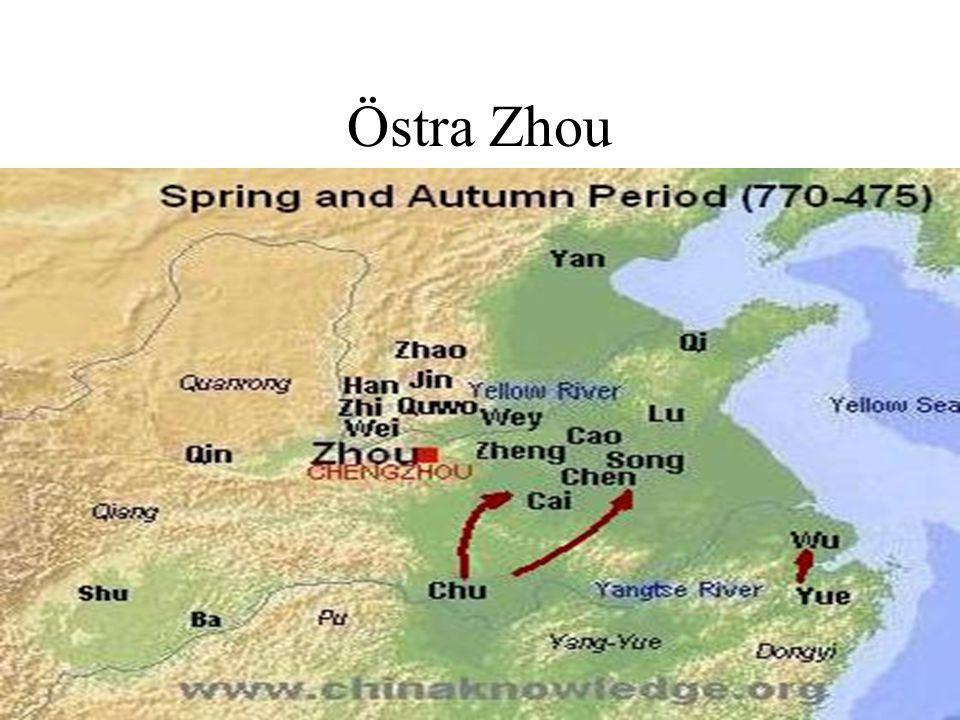 Legalismen 法家 Framställs som konfucianismens största motsåndare Ingen tydlig förgrundsgestalt Furstens makt stärks gentemot aristokratin Strömningar som först blir konkretiserade i staten Qi under 600-talets tidigare hälft