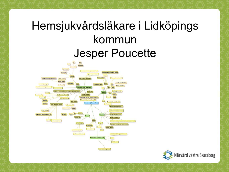 Hemsjukvårdsläkare i Lidköpings kommun Jesper Poucette