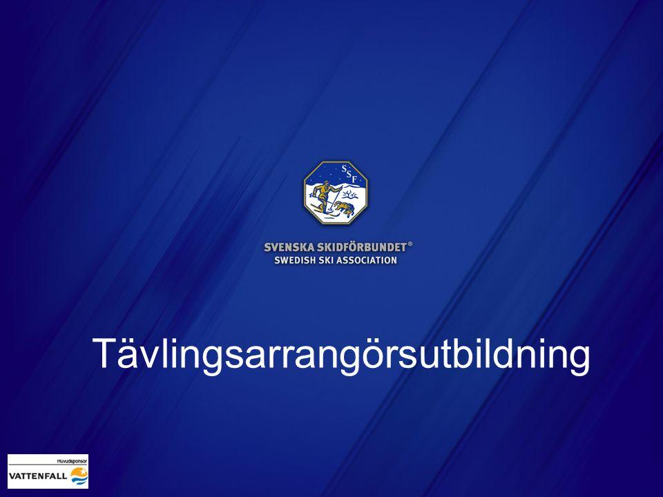 Tävlingssekretariat Rutiner Hämta anmälningar via Klubben Online Efteranmälningar enligt SSF/FIS regler