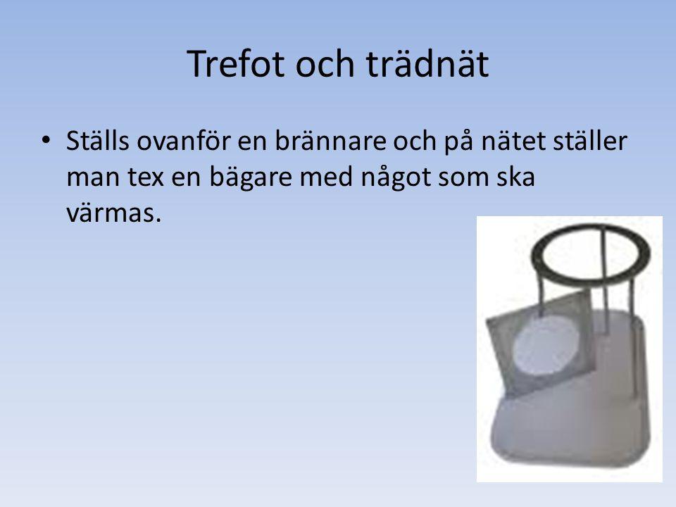 Kokplatta Kan användas istället för brännare om något ska värmas.