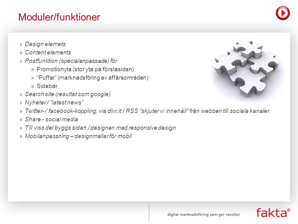 """» Design elemets » Content elements » Postfunktion (specialanpassade) för » Promotionyta (stor yta på förstasidan) » """"Puffar"""" (marknadsföring av affär"""