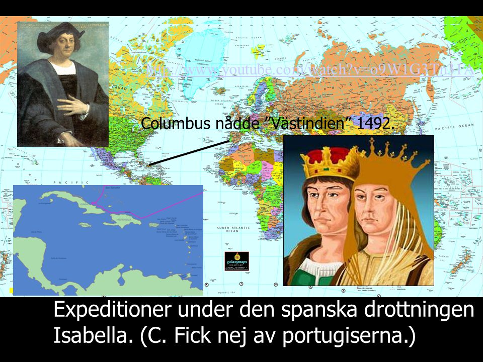 Expeditioner under den spanska drottningen Isabella.
