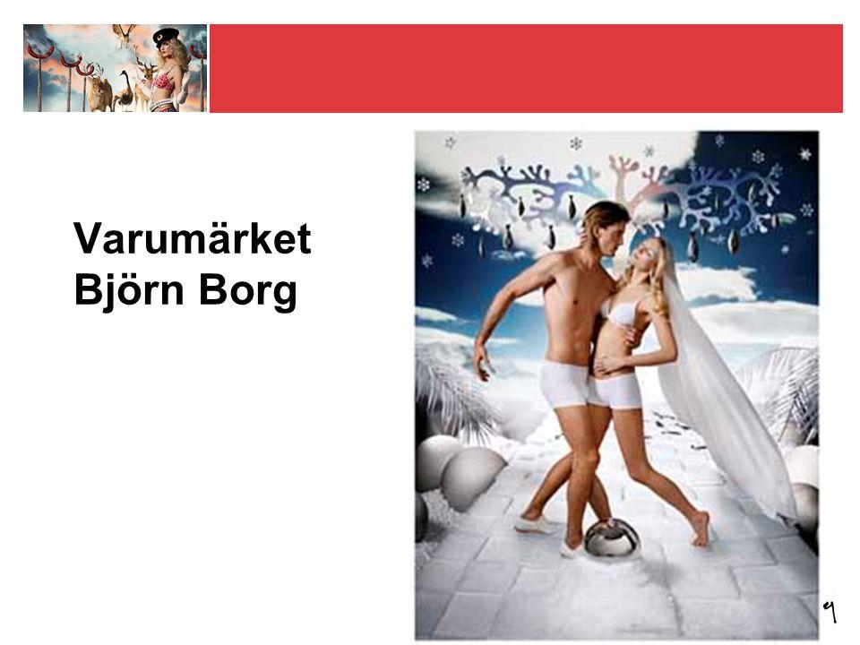 Exklusiv rätt att producera, marknadsföra och sälja produkter med varumärket Björn Borg Licensavtalet förlängs automatiskt med 10 år i taget på oförändrade villkor 2020, om det inte sägs upp 3 år tidigare (2017) Gäller alla produkter och alla marknader