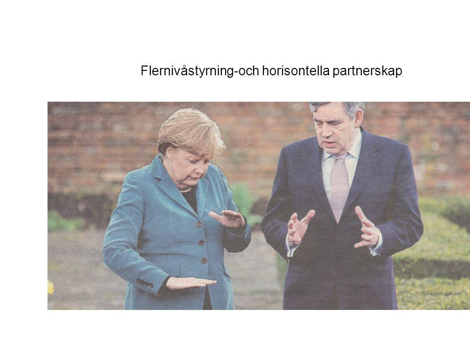 Flernivåstyrning-och horisontella partnerskap