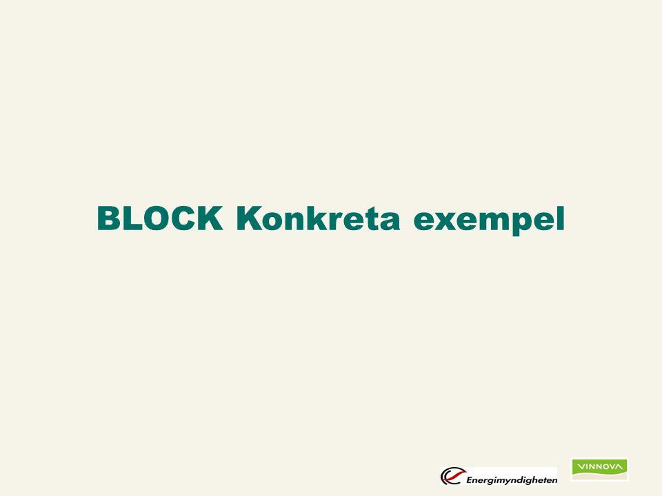 Infogad sidfot, datum och sidnummer syns bara i utskrift (infoga genom fliken Infoga -> Sidhuvud/sidfot) BLOCK Konkreta exempel
