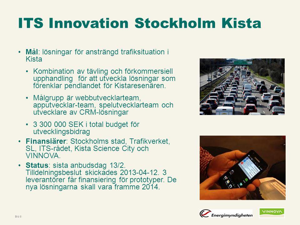 Infogad sidfot, datum och sidnummer syns bara i utskrift (infoga genom fliken Infoga -> Sidhuvud/sidfot) ITS Innovation Stockholm Kista Mål: lösningar