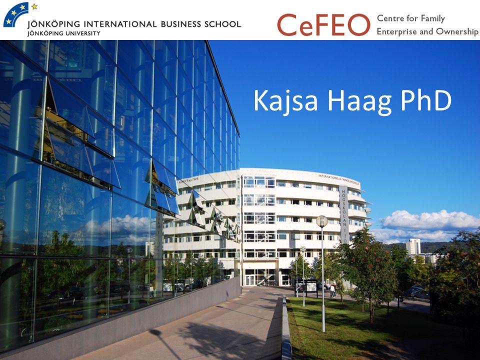 Kajsa Haag PhD