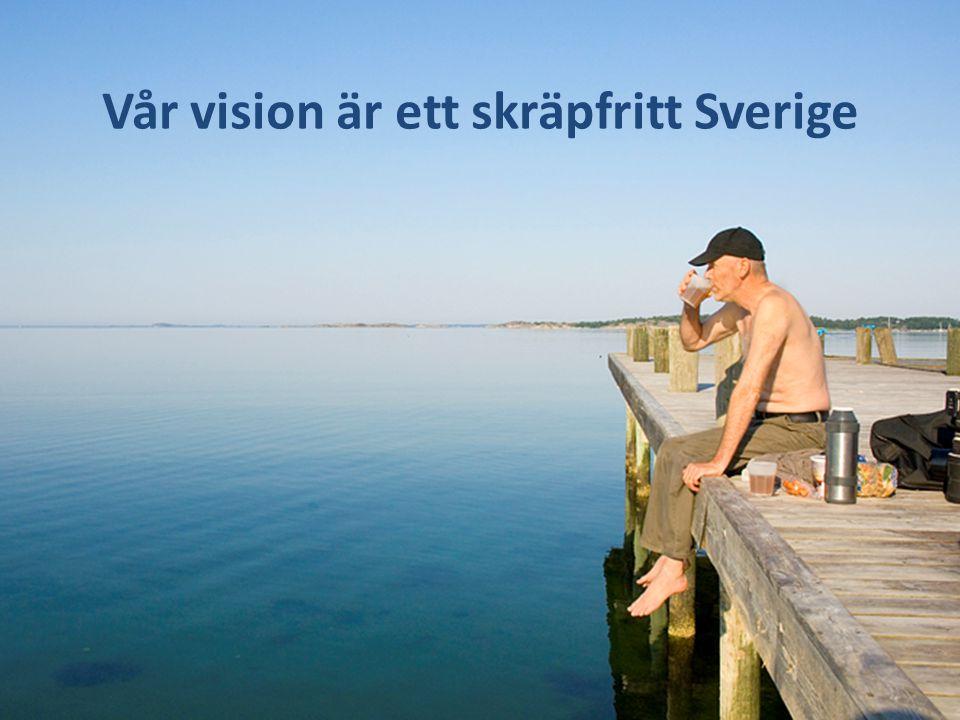 Idealbild Vacker naturbild på picknick-familj – gärna vid vatten. Svensk sommar. Fantastiskt fint. Vår vision är ett skräpfritt Sverige