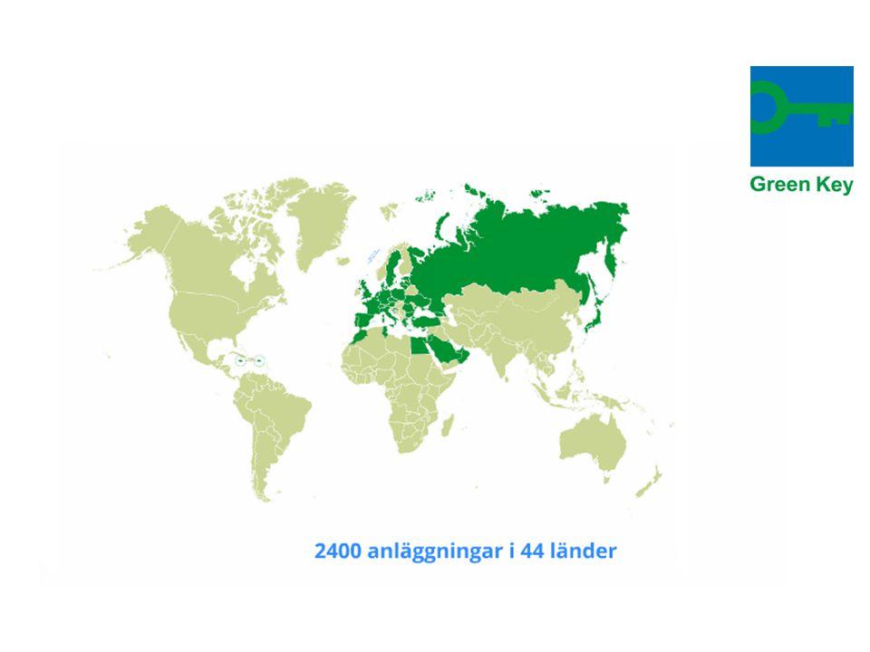 1.Ansök om Green Key.Till ansökan bifogas miljöpolicy, miljömål och handlingsplan.
