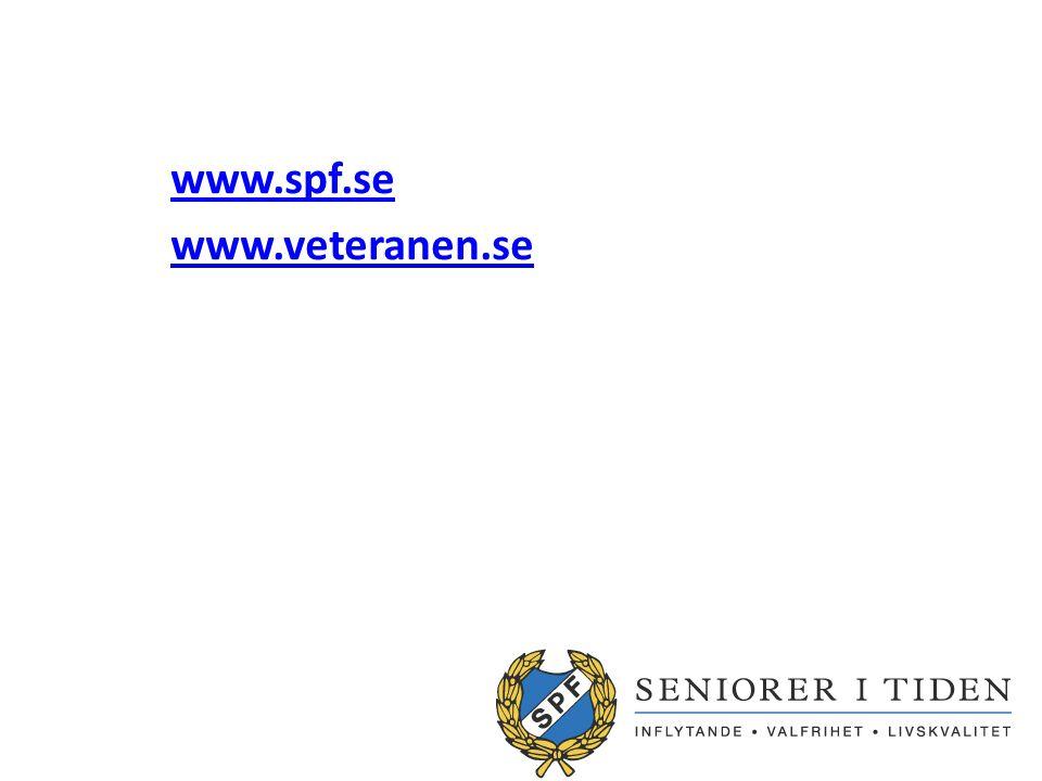 www.spf.se www.veteranen.se