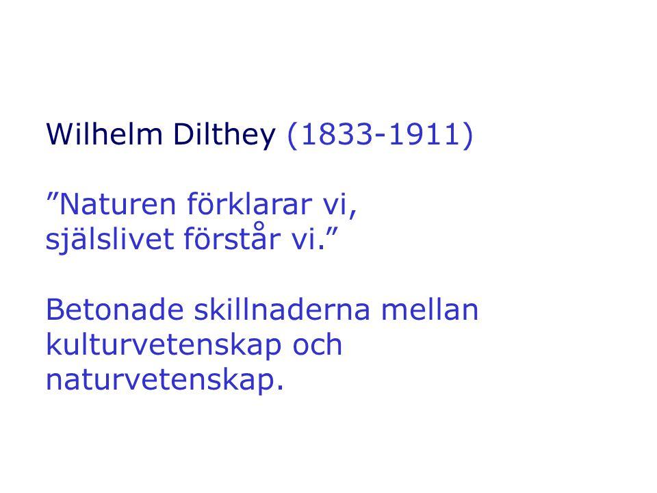 Friedrich Schleiermacher (1768–1834) Hermeneutik tillämpat på texter i allmänhet.