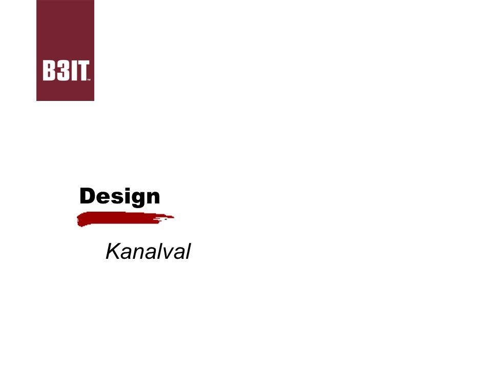 Design Kanalval
