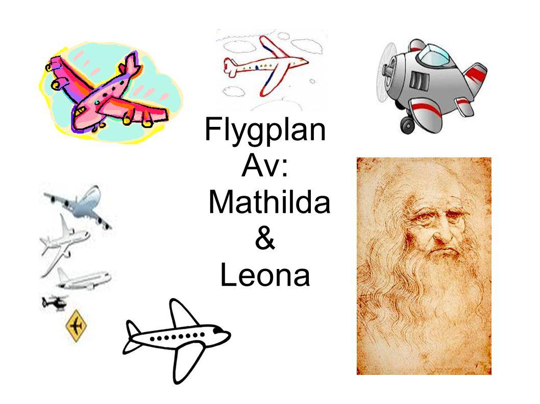 Varför utvecklar människan flygplanet.