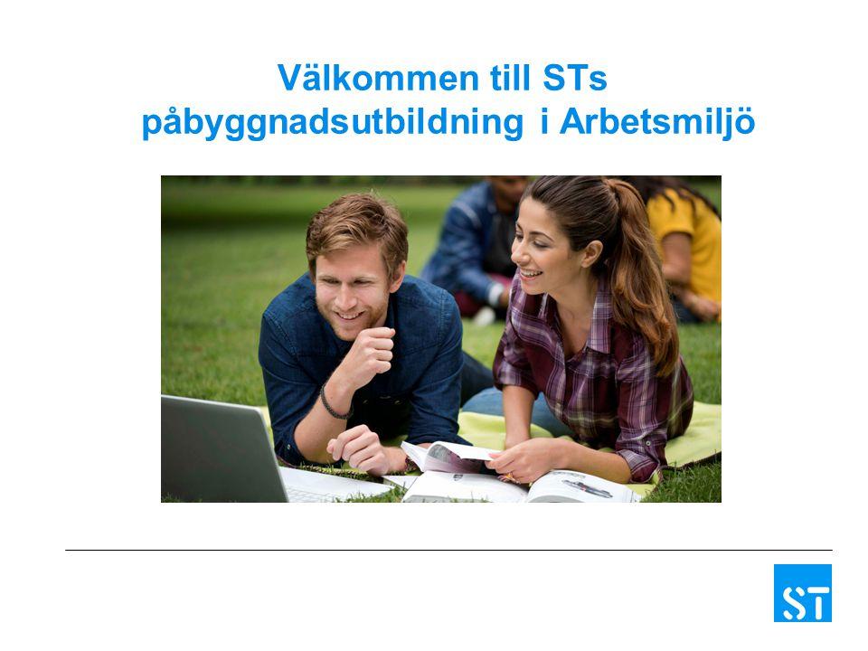 Välkommen till STs påbyggnadsutbildning i Arbetsmiljö