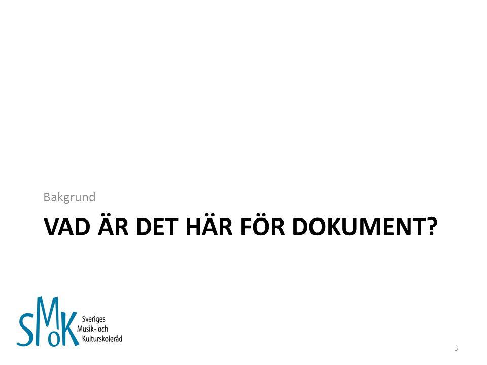 FÖRDJUPNING: Finlandsmodellen Juridisk förankring Organiseras under utbildningsstyrelsen Lagen föreskriver om målinriktad undervisning inom olika konstarter som i första hand riktar sig till barn och unga.
