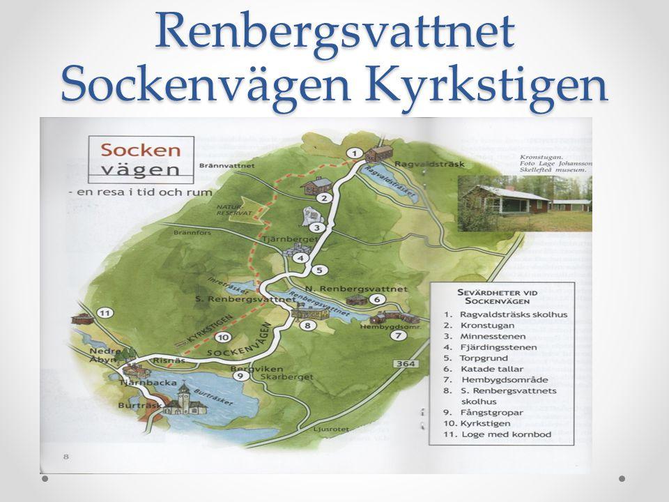 Saras färd från Renbergsvattnet