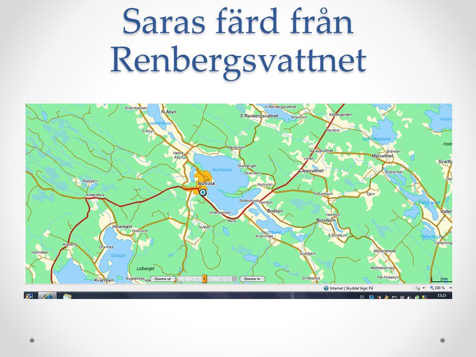 Till Salberget och Lubboträsk