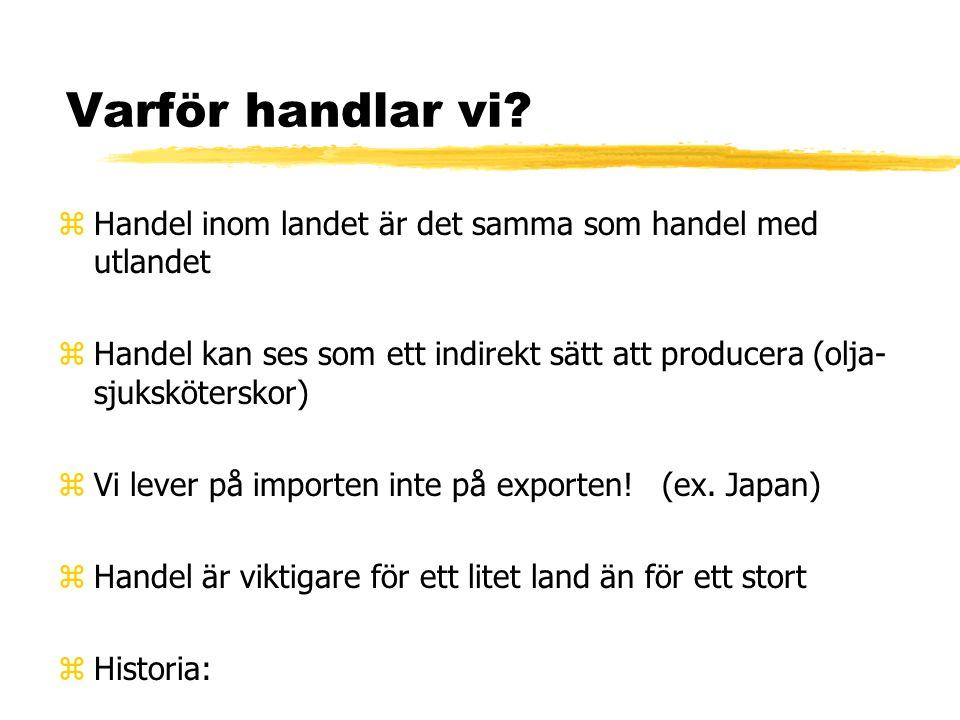 Frihandel och protektionism zAnalysera påståendet: Utländsk konkurrens skadar svensk industri och hotar jobben. Därför bör vi införa tullar. yvem vinn