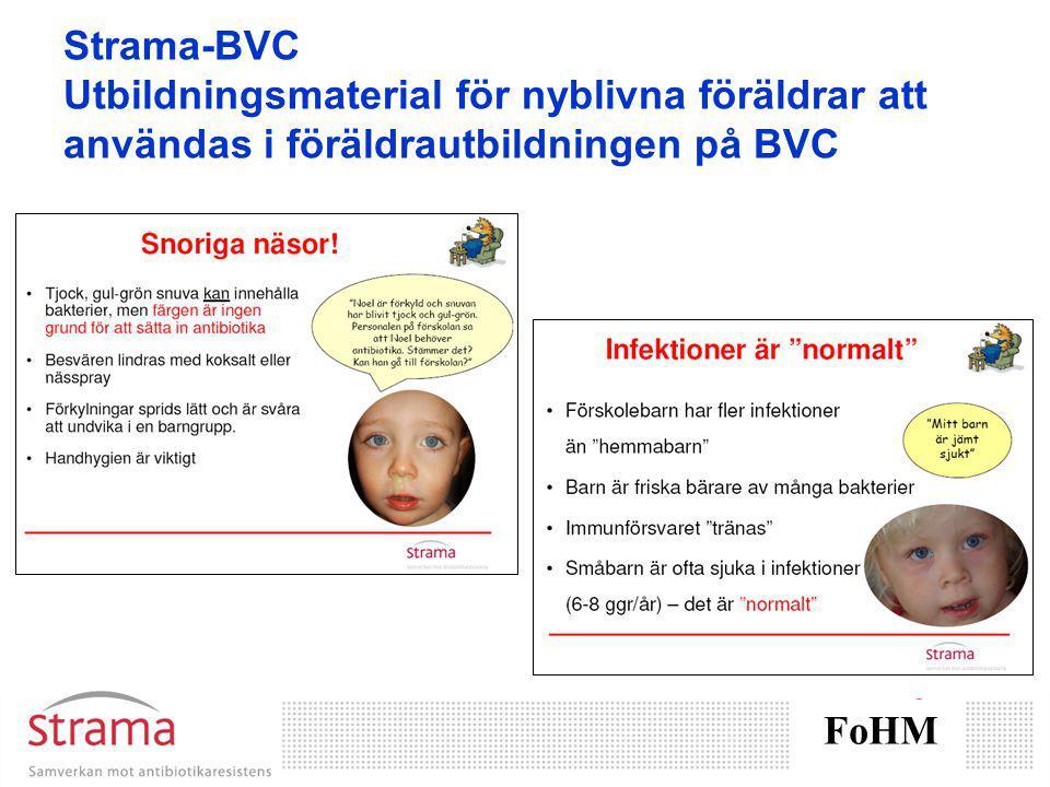 Strama-BVC Utbildningsmaterial för nyblivna föräldrar att användas i föräldrautbildningen på BVC FoHM