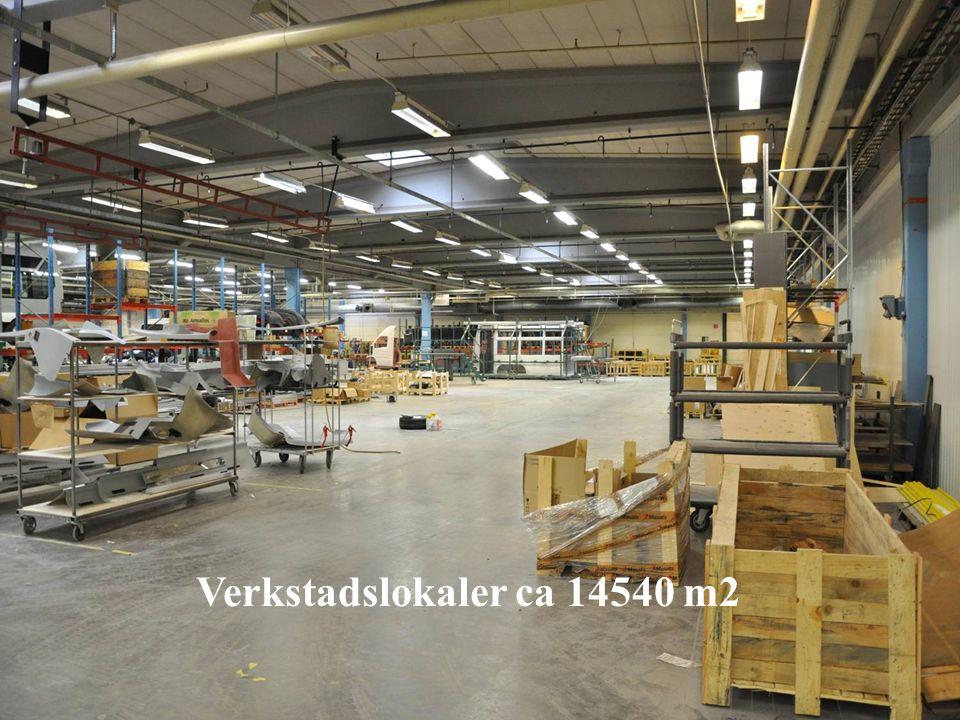 Verkstadslokaler ca 14540 m2