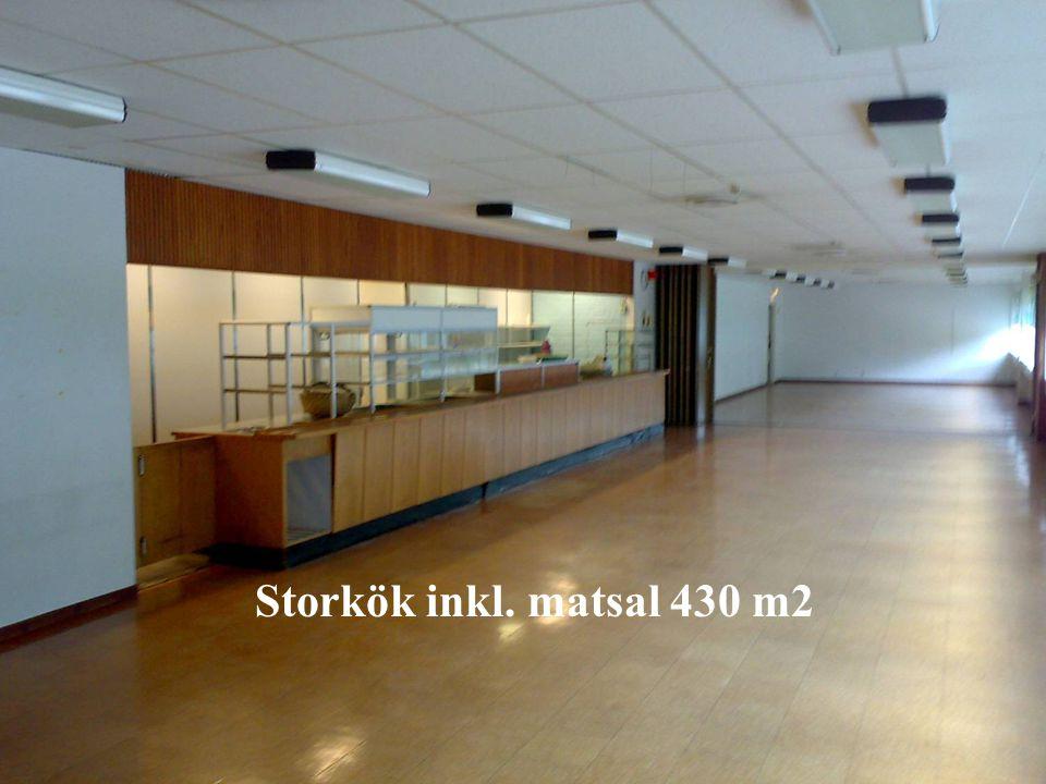 Storkök inkl. matsal 430 m2