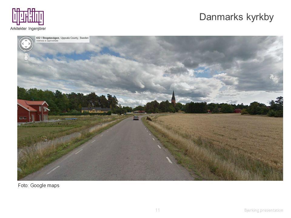 Danmarks kyrkby Bjerking presentation 11 Foto: Google maps