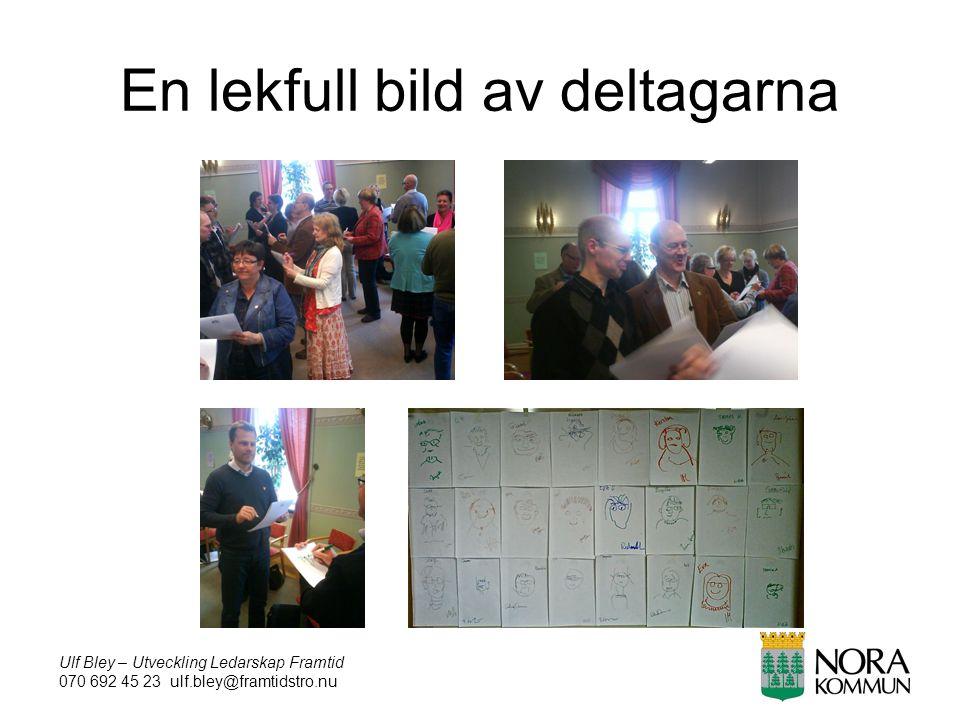 Ulf Bley – Utveckling Ledarskap Framtid 070 692 45 23 ulf.bley@framtidstro.nu En lekfull bild av deltagarna