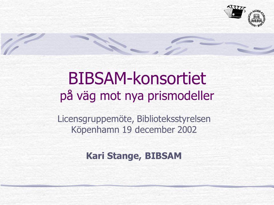 2002-12-19Kari Stange, BIBSAM Hur mår BIBSAM-konsortiet.